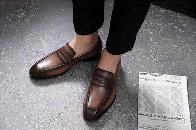英倫風一腳蹬男士皮鞋(可搭九分褲,camper,  馬丁鞋, red wing可參考) 台中市