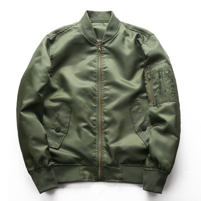RECONIN品質男裝 美國阿爾法工業Alpha男女士MA-1經典版薄款飛行夾克戶外棉服MA1