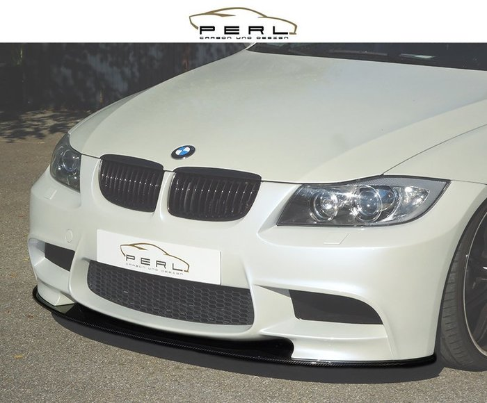 【樂駒】Perl Carbon Design BMW E90 E91 VFL LCI M3 Carbon 碳纖維 前下巴