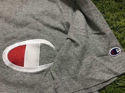 champion 短t 日本 日版 灰 m號 冠軍 t shirt 大logo 大C 現貨 男裝 日系 高雄市