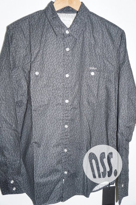 特價「NSS』NEIGHBORHOOD ROVE WS C-SHIRT LS 碎花 長袖 襯衫 L