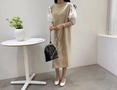 女裝 洋裝 正韓洋裝 夏日洋裝 短袖洋裝 裙子 長裙 氣質洋裝 韓國代購 女生上衣
