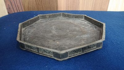 錫製老茶盤