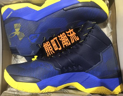 Us10全新正品 UNDER ARMOUR UA CURRY 2.5 勇士 73-09 限定 1274425-400