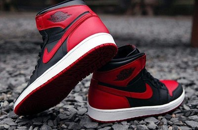 Nike Air Jordan 1 Retro High OG GS Banned喬丹575441-001黑紅AJ1禁穿