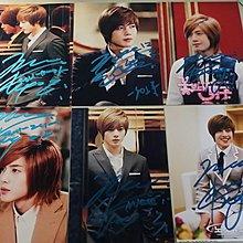 韓國ss501金賢重2*3親簽照1.