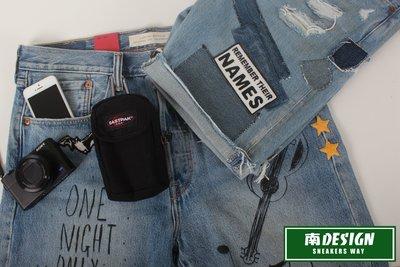 南 現  EASTPAK Twirl 相機包 手機包 深藍色 黑 帆布 小腰包 掛包 零錢包 鑰匙包