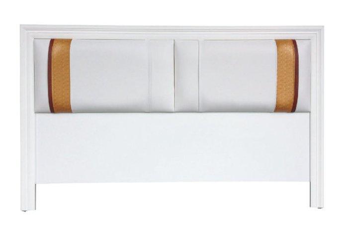 【南洋風休閒傢俱】精選時尚床片  雙人床頭片-  金條床片5尺  CY104-22