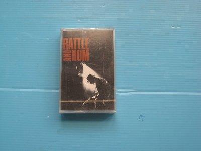 飛碟唱片 U2  RATTLE AND HUM  原封未拆 附歌詞回卡圖片內容為實物