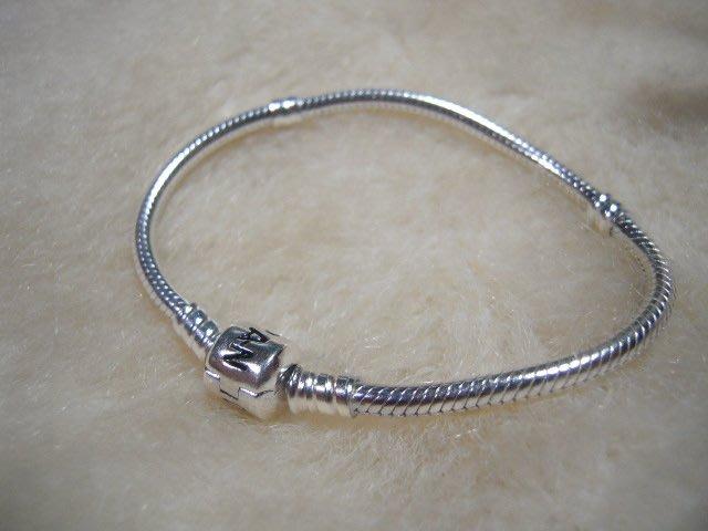 ※水晶玫瑰※ 925純銀PANDORA手鏈(RD105B)