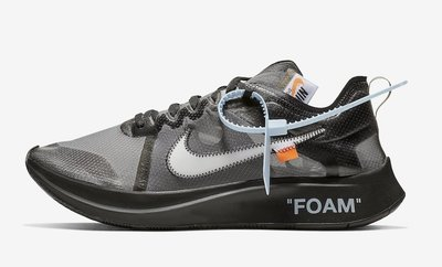 (A.B.E)The 10 : Nike 耐克 Zoom Fly Off White AJ4588-001 聯名 男潮鞋