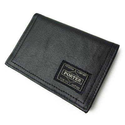 『小胖吉田包』黑色預購 日標 PORTER FREE STYLE 證件夾/信用卡夾 ◎707-08229◎免運費!