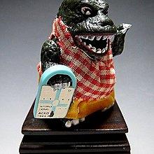 【 金王記拍寶網 】(常5) W5256 早期日製 老玩具 哥吉拉妹妹 噴火花玩具一隻 罕見稀少