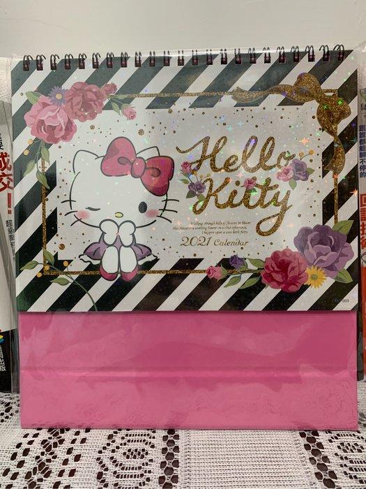 【木風小舖】轉賣.正版授權2021年桌曆*Hello kitty