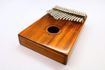 【老羊樂器店】現貨 免運 附調音器 收納盒 GECKO K17K 17音 拇指琴 姆指琴 相思木 kalimba