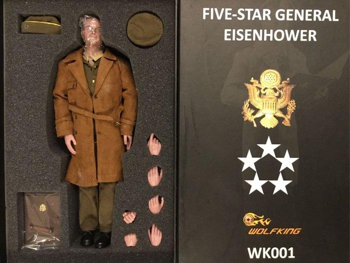 COME 玩具 五星上將 艾森豪 第二次世界大戰 盟軍 歐戰統帥 市面少見