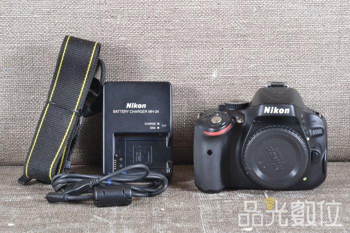 【品光數位】Nikon D5100 單機身 1620萬畫素 快門數78XX 翻轉螢幕 #88941