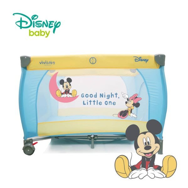 麗嬰兒童玩具館~迪士尼專櫃米奇MICKEY//小熊維尼雙層遊戲床