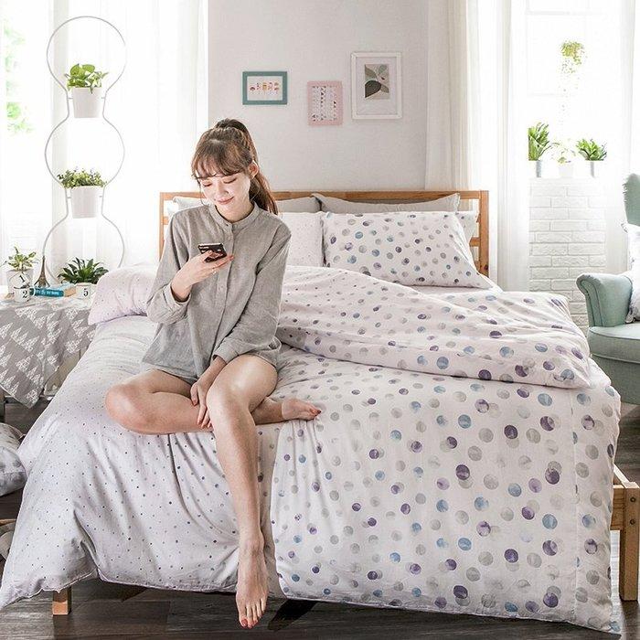 床包被套組 / 雙人【律動永恆】含兩件枕套  60支精梳棉  戀家小舖台灣製AAS212
