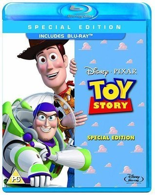 BD 美版【玩具總動員 單碟版】【Toy Story 】Blu-ray 藍光