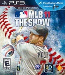 PS3(菜鳥屋電玩)~亞版中古品~MLB 11 The Show美國職棒大聯盟 11 (英文版)