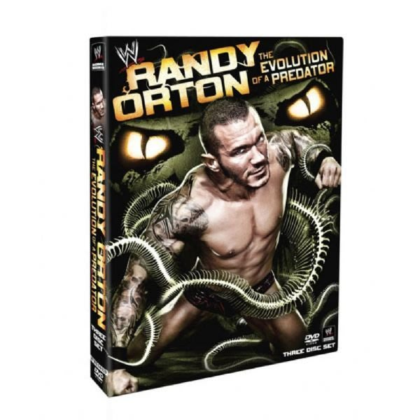 ☆阿Su倉庫☆WWE摔角 Randy Orton: The Evolution of a Predator DVD RKO掠食進化精選專輯 熱賣中