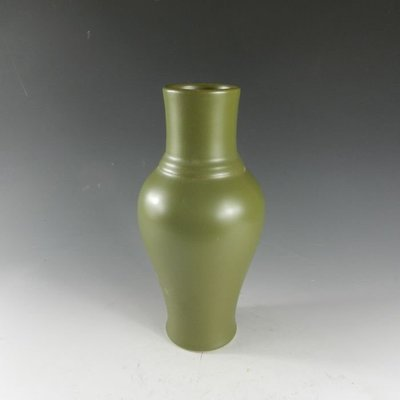 百寶軒 景德鎮仿古瓷器清雍正茶葉末釉觀音瓶花瓶仿古董古玩老貨舊貨 ZK1350