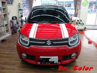 Dr. Color 玩色專業汽車包膜 Suzuki Ignis 車身線條客製化 (3M 1080)