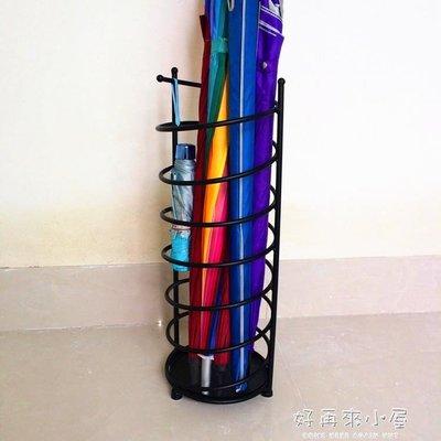 歐式家用雨傘架 鐵藝創意雨傘架雨傘桶收納桶雨傘架酒店大堂  igo