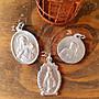 黑爾典藏西洋古董 ~ 三件墜子G~ 天主 耶穌 教...