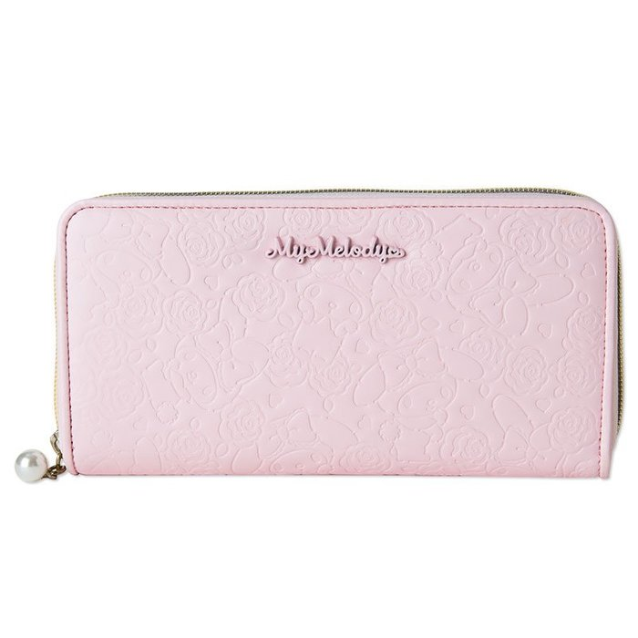 ♥ 小花日韓雜貨 ♥ 日本 MELODY 粉色長夾錢包