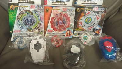 彩色版龍騎士旋戰鬥陀螺之颶風龍獸爆裂改裝版對戰-多人對戰陀螺套裝組  一款120元