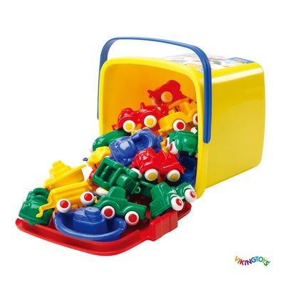 【晴晴百寶盒】瑞典進口 30輛交通工具組 VIKINGTOYS 角色扮演禮物益智遊戲玩具高品質W206