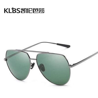 [凱倫芭莎]2003眼鏡鏡框墨鏡太陽眼鏡鏡片新款偏光太陽鏡時尚金屬墨鏡男女通用駕駛開車鏡高清眼鏡批發887595
