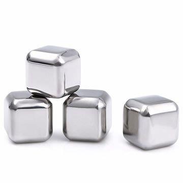 food grade stainless steel ice cube, 304食用不銹鏽鋼冰塊速凍威士忌 金屬冰粒 酒吧用具