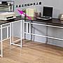 160穩固防潑水L型工作桌(長桌+側桌)電腦桌 ...