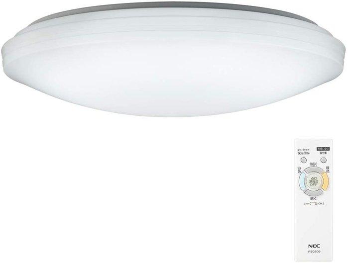 日本代購 NEC 調光 調色 HLDC12208 LED 吸頂燈 6坪 超長壽 防蟲結構 留守定時  日本製 空運包關稅