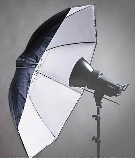 呈現攝影-離機閃專業 組合8-大型傘座+43吋透射反射兩用傘 +中型燈腳架高255cm+80cm燈架袋 各1