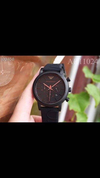ARMANI 全新潮流時尚男士石英手錶