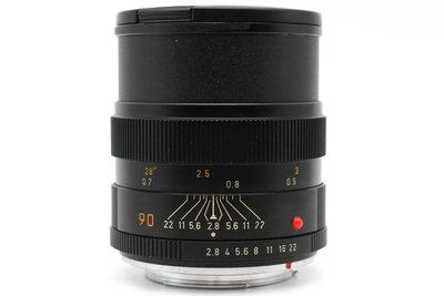 【高雄青蘋果3C】LEICA ELMARIT-R 90MM F2.8 E55 二手鏡頭 手動鏡 #37894