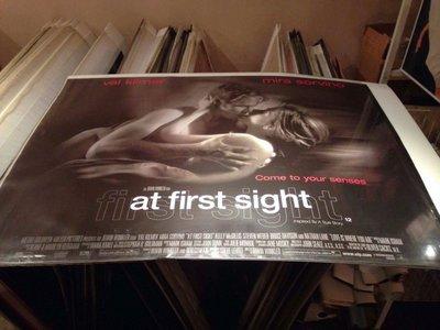 真情難捨-At First Sight (1999)原版英橫版海報