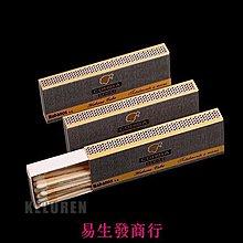 【易生發商行】高希霸雪茄火柴雪松木西打木無磷點煙具火柴大包(24小包)F6047