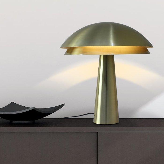 【58街】「LED光源_蘑菇台燈」檯燈,美術燈。複刻版。GL-165