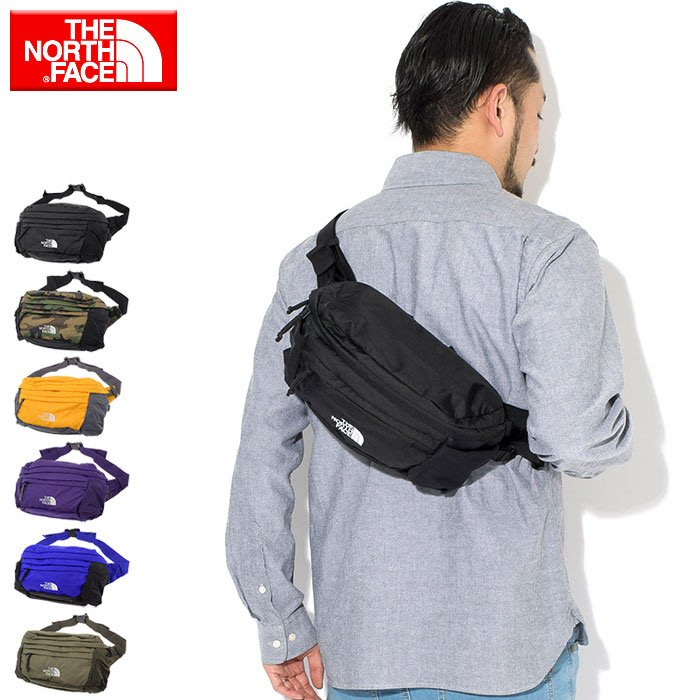 XinmOOn THE NORTH FACE SPINA Logo Waist Bag NM71800 腰包 機能 北臉