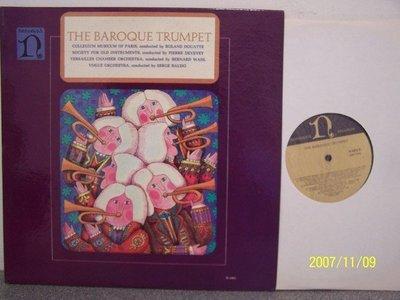 【Nonesuch LP名盤】2172.巴洛克小號協奏曲集,Baudo/Vogue管弦樂團,Janigro,2LPs