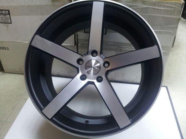 類 vossen cv3 17吋 2色可選 銀底車亮面 黑底車亮面 5X114.3 5X120 5X112 5X108