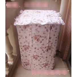 【洗衣機罩】夏季防曬防裂耐用 高檔滌棉布藝單缸滾筒洗衣機罩上/側開蓋-7101011