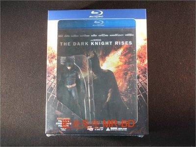 [藍光BD] - 黑暗騎士:黎明昇起 The Dark Knight Rises 雙碟限量公仔紀念版 - 克里斯汀貝爾