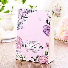 新款結婚席位卡 歐式婚禮嘉賓桌卡 個性創意桌牌婚宴座位卡 花海款