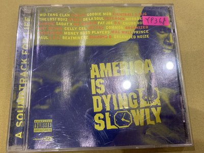 *還有唱片行*AMERICA IS DYING SLOWLY 二手 Y9368